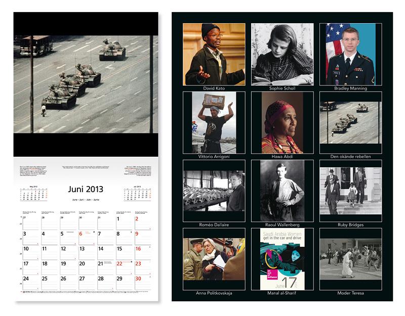 Raoul Wallenberg Calendar
